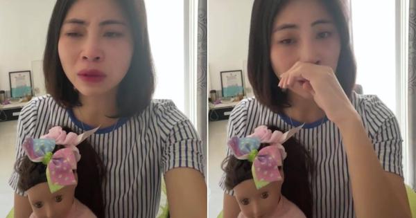 Động thái mới nhất của Thơ Nguyễn: Tay ôm khư khư búp bê, vừa khóc vừa tuyên bố nếu nghỉ làm YouTuber vẫn đủ tiền