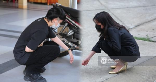 Gil Lê cùng Hoàng Thuỳ Linh đến tiễn đưa 'phù thuỷ' trang điểm Minh Lộc, có hành động tinh tế nhằm tránh sự chú ý