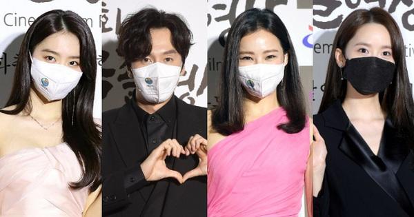Thảm đỏ khủng nhất hôm nay: Hoa hậu Honey Lee hồng chói lọi vẫn bị Yoona lấn át, Lee Kwang Soo lột xác sau màn tuột dốc