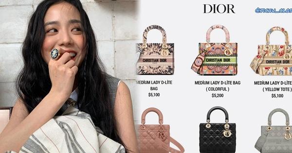 ''Xỉu ngang'' trước dàn túi Dior đắt đỏ của Jisoo: Tận 42 chiếc, nhẩm vội mà tổng giá trị đã gần 4 tỷ đồng!