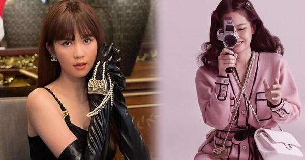 Jennie và G-Dragon tưởng đang sóng sánh túi đôi thì Ngọc Trinh từ đâu xuất hiện
