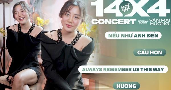 Lâu lắm rồi mới nghe Văn Mai Hương hát Nếu Như Anh Đến, còn ''Cầu Hôn'' rồi live luôn ca khúc mới nhất quá mượt tại 14x4 Concert