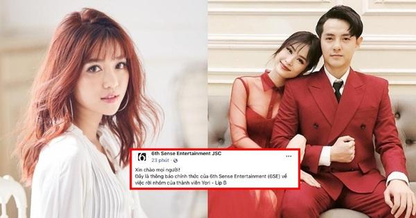 Sau 1 ngày, công ty Đông Nhi - Ông Cao Thắng chính thức lên tiếng về việc thành viên nữ rời nhóm