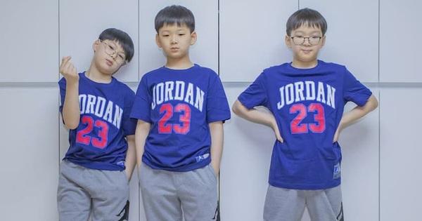 Ảnh sinh nhật 9 tuổi của Daehan - Manse - Minguk gây bất ngờ: 3 hoàng tử bé khoe chân dài, visual khác hẳn trước đây