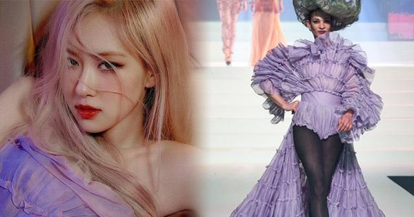 Stylist bạo tay cắt váy Haute Couture để Rosé khoe trọn vai trần, netizen rần rần: 'Ai làm lại chị?'