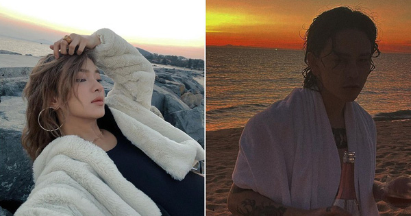 Châu Bùi đi biển, Decao cũng đi biển nhưng là với bạn gái mới