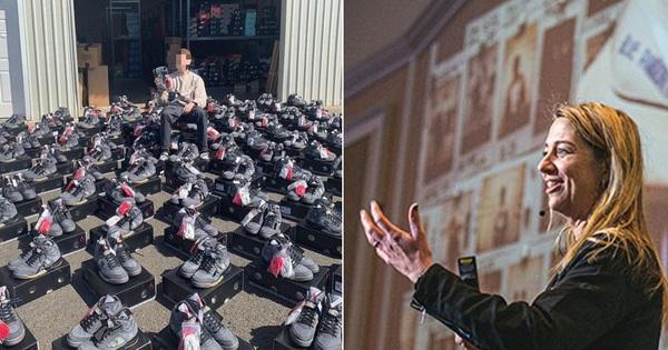 Mẹ còng lưng làm phó chủ tịch Nike, con tuồn giày ra chợ đen bán khiến mẹ mất chức