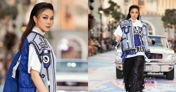 Gặp sự cố tại runway của Fashion Voyage 3, Thanh Hằng liền có cách xử lý đi thẳng vào lòng người