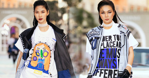 Hoàng Thùy khí chất đỉnh cao nhưng vẫn khó 'chặt' nổi Thanh Hằng tại Fashion Voyage 3