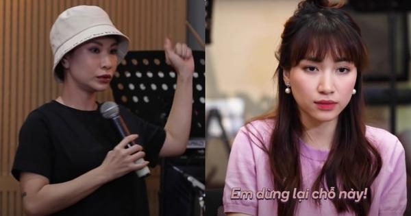 Hòa Minzy diễn tả việc ban nhạc bị 'khớp' khi gặp Uyên Linh: Đang rất vui bỗng hóa thành... 'cún con'