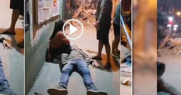 Hà Nội: Bức tường bất ngờ đổ sập khiến người đàn ông đi xe máy bất tỉnh, vợ mang bầu thoát nạn