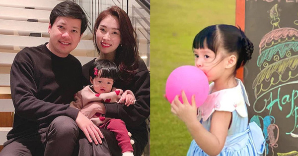 Hoa hậu Đặng Thu Thảo hiếm hoi khoe ảnh cận mặt con gái, nhóc tỳ 3 tuổi đã lớn thấy rõ và ngày càng ra dáng tiểu mỹ nhân