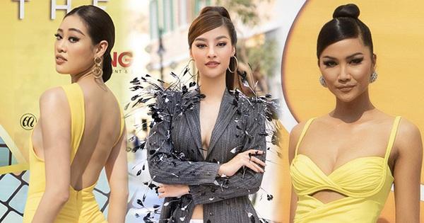 Lâu lâu mới có sự kiện thời trang nên khách mời thi nhau hở bạo, choáng nhất là độ bạo liệt của dàn Hoa hậu Á hậu