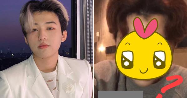 Rich kid Nhất Hoàng vô tình lộ mặt mộc trên livestream khi chưa kịp chọn filter