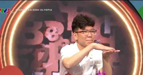 Nam sinh gây tranh cãi vì thái độ trên sóng VTV xuất sắc lọt chung kết năm Olympia, mang cầu truyền hình về chuyên Ngoại ngữ sau 17 năm chờ đợi