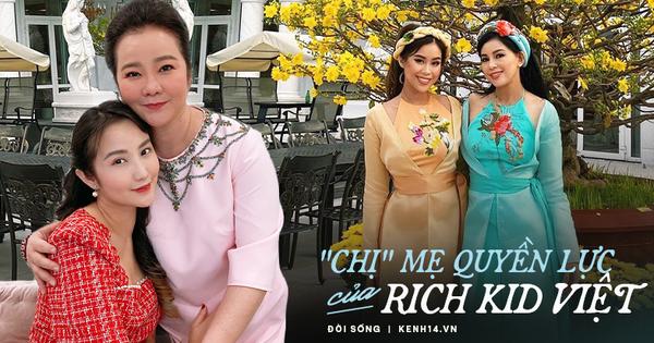 Có thể bạn chưa biết: Phía sau mỗi rich kid Việt là một bà mẹ quyền lực và giàu sụ!