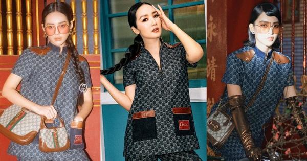Cũng diện cả cây Gucci như Khánh Linh - Tiểu Vy nhưng Hoa hậu Giáng My thật biết khiến người ta 'tụt mood'!