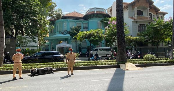 Nam thanh niên người nước ngoài tử vong sau tiếng động lớn trên đường trung tâm TP.HCM