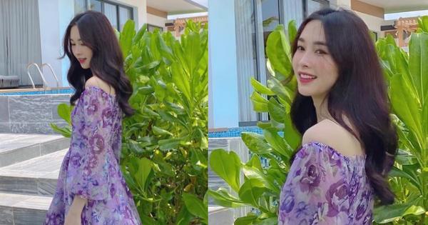 Hoa hậu Đặng Thu Thảo tung 3 bức ảnh sương sương ở resort, lướt qua thôi cũng đủ làm tim đập thình thịch vì đẹp nức nở