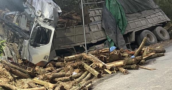 Ảnh: Hiện trường vụ tai nạn thảm khốc ở Thanh Hóa khiến 7 người tử vong