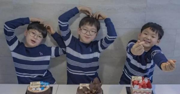 Daehan, Minguk, Manse lớn phổng phao ở sinh nhật 9 tuổi, dự đoán sẽ cao tới 1m85!