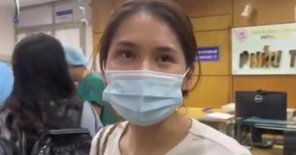 Vợ Đỗ Hùng Dũng tất bật tại bệnh viện, chỉ sợ chồng buồn vì phải nghỉ dài hạn