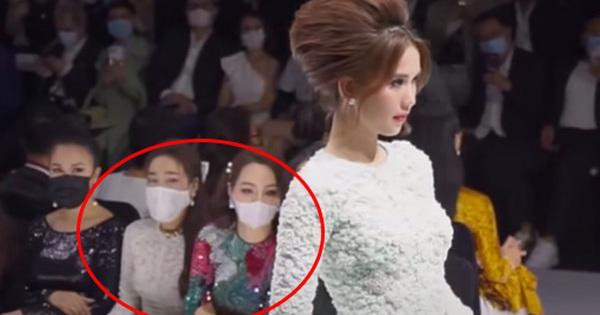 Giờ mới thấy: Ngọc Trinh kiêu sa diễn catwalk, Nhã Phương đeo khẩu trang mà đảo mắt liếc nhìn chăm chú lắm!
