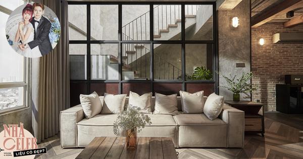 Penthouse 3 tầng của vợ chồng Khởi My - Kelvin Khánh: Độ đầu tư gây choáng, riêng phòng bếp chất như quán cafe