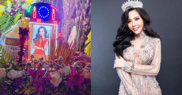Thông tin về tang lễ thí sinh Hoa hậu qua đời ở tuổi 32: Cáo phó được công bố, nụ cười trên di ảnh gây xót xa