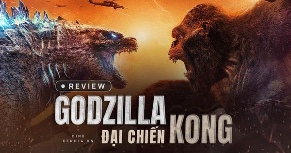Siêu bom tấn Godzilla vs. Kong: chấp nhận sướng mắt thì phải tạm... cất não đi
