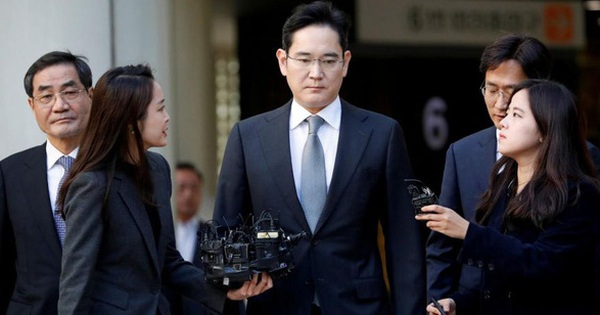'Thái tử' Samsung bị vỡ ruột thừa