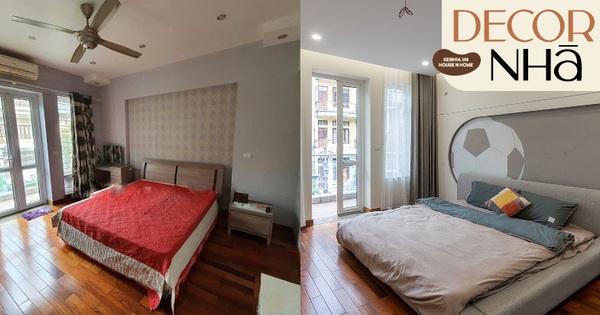 Nhà ngột ngạt ở Hà Nội khác biệt hậu decor: Các chi tiết thừa bị loại bỏ, phòng ngủ xịn mịn nhận không ra