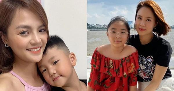 Cậu ấm, cô chiêu dàn diễn viên VTV: Toàn cho con học trường siêu rẻ, riêng con Hồng Diễm bé tí nhưng đã biết bức xúc thay mẹ