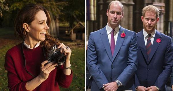 Công nương Kate tung ảnh đẹp ngây ngất ra mắt cuốn sách đặc biệt, Harry và William dự định tái hợp sau rạn nứt?