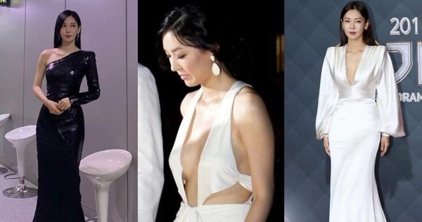 Chẳng ngờ 'Ác nữ Penthouse' Kim So Yeon từng lên đồ táo bạo tột bậc, style 'hack' dáng nhưng phản cảm đi vào lịch sử