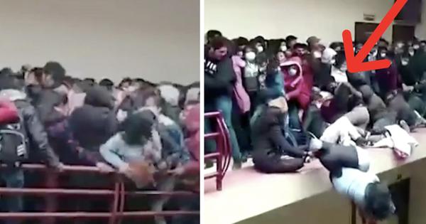 Đứng chen chỗ, 5 sinh viên ngã từ tầng 4 xuống tử vong do lan can bất ngờ bị đổ, khung cảnh hiện trường khiến ai cũng thót tim