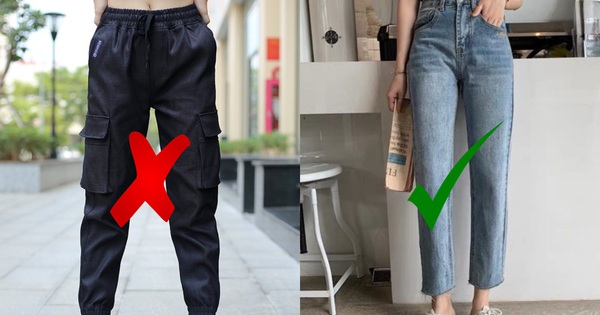 Nếu không muốn phong độ sa sút thì chị em nên hạn chế 5 mẫu quần dài này!
