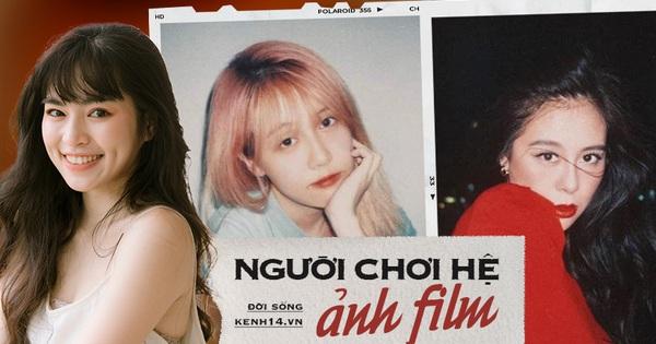 Khánh Vân - người chơi hệ ảnh film mới nổi: Nam Thư bỗng đẹp như Phạm Băng Băng, Hậu Hoàng hiền khô khác hẳn chính chủ tự chụp