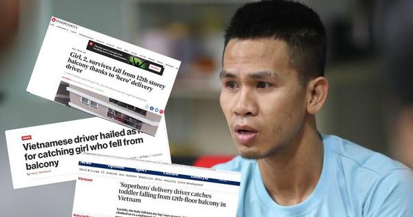 Thêm hàng loạt tờ báo lớn tại Mỹ, Nga, Hàn Quốc gọi anh Nguyễn Ngọc Mạnh là ''siêu anh hùng'' đời thực khi cứu sống bé gái 3 tuổi