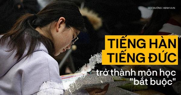 Tiếng Hàn và tiếng Đức trở thành môn học 'bắt buộc': Thế giới phẳng không có nghĩa là tất cả phải học tiếng Anh!