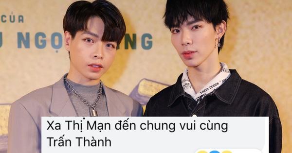Đức Phúc - Erik sóng đôi trên thảm đỏ ra mắt phim Trấn Thành, netizen: 'Xa Thi Mạn và anh em song sinh hay gì?'