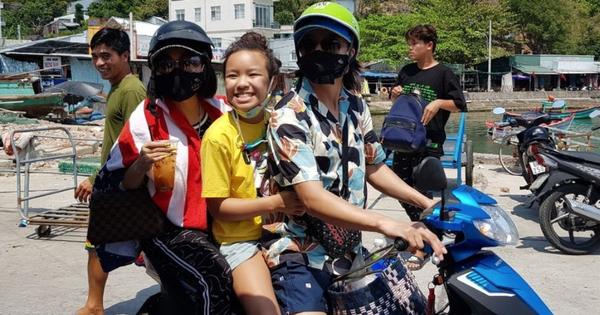 Gia đình NS Việt Hương lái xe máy đi phượt nhưng gây tranh cãi vì 1 chi tiết, chính chủ phải lên tiếng ngay và luôn
