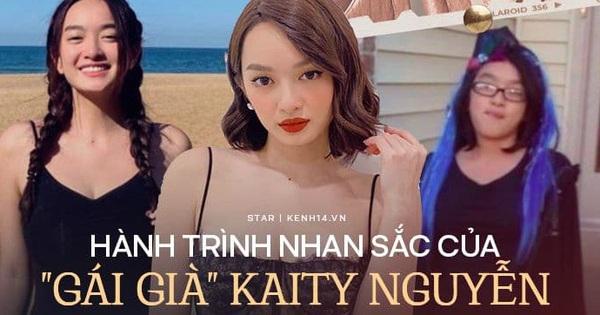 Hành trình nhan sắc của Kaity Nguyễn: Từ hotgirl ngực khủng đến ngọc nữ, lột xác ngoạn mục nhờ hút mỡ vòng 1 và giảm 9kg