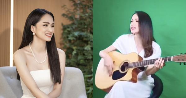 Hương Giang ngẫu hứng cover nhưng đánh guitar hết sức giả trân, giọng hát bị netizen chê thua cả Chi Pu?