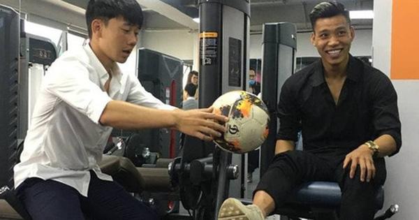 Minh Vương, Văn Thanh nhắng nhít tại lễ khai trương trung tâm phục hồi chấn thương của Xuân Trường