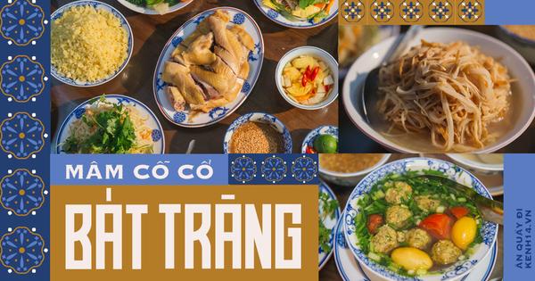 Ngoài gốm sứ, Bát Tràng còn có mâm cỗ với món ăn tiến vua đặc biệt, đại diện cho 'cái tầm' rất khác của ẩm thực Việt Nam
