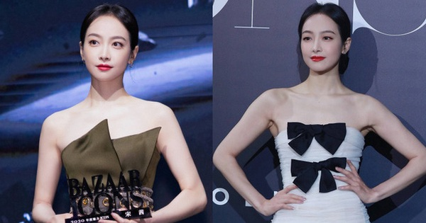 Tống Thiến lộ nhược điểm body vì váy 'phản chủ', netizen xôn xao: 'Đầm gì mà như bông tắm thế kia?'