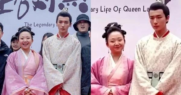 Xuất hiện Kim Jung Hyun bản Trung tại lễ khai máy phim mới, mặt lạnh tanh khiến nữ chính tắt cả nụ cười