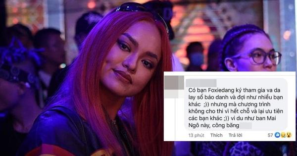 Thí sinh bức xúc BTC Rap Việt ưu tiên Mai Ngô vào casting trước, hết số báo danh nhưng không báo làm nhiều người phải ra về?