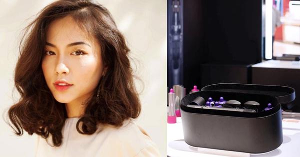 Soi chiếc máy uốn tóc mới về Việt Nam khiến Hà Trúc mê mẩn, sang xịn mịn nhưng cái giá cũng quá ''chát''